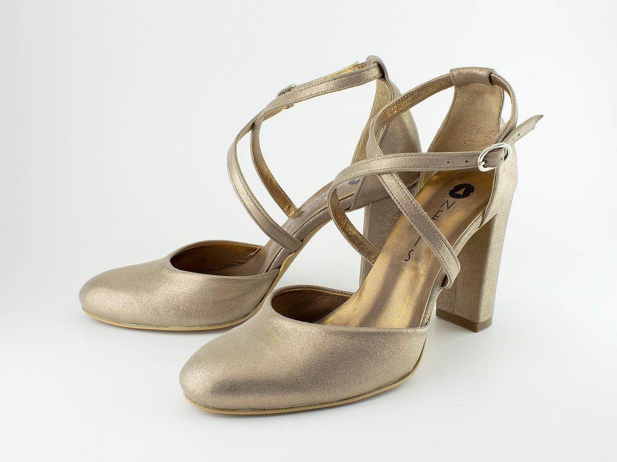 Νυφικά Παπούτσια με Δέσιμο «Χ»